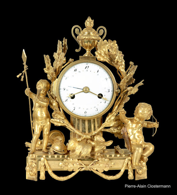"Mantel clock ""peace and war"" - ca. 1785"