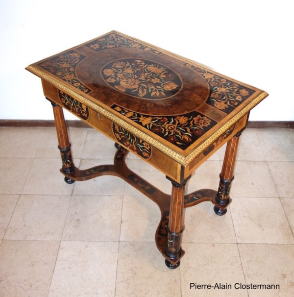 Louis XIV table in the manner of Pierre Gole