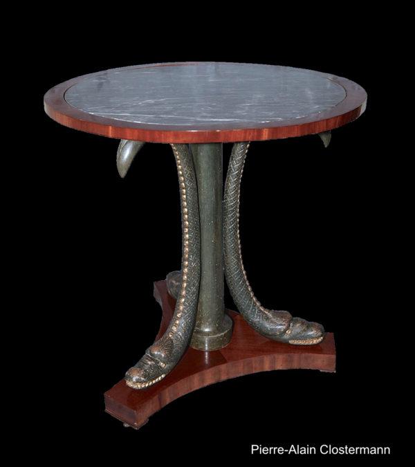 Pedestal chimeras by Jean-Joseph CHAPUIS