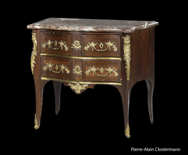 Charles CRESSENT - Commode in amaranth, c. 1730